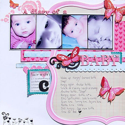 The Everyday - A diary of a baby.web