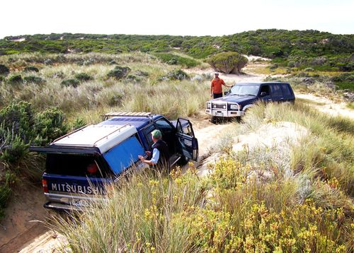4WD stuck at Easter 13 web