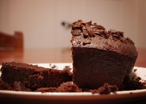 Quadruple Choc Cake web