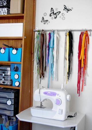 Sewing machine web
