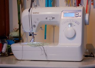 The Sewing Machine web