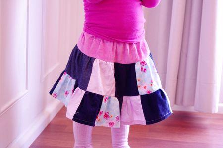 Patchwork Twirly Skirt web