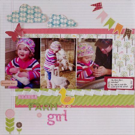 Little Farm Girl web