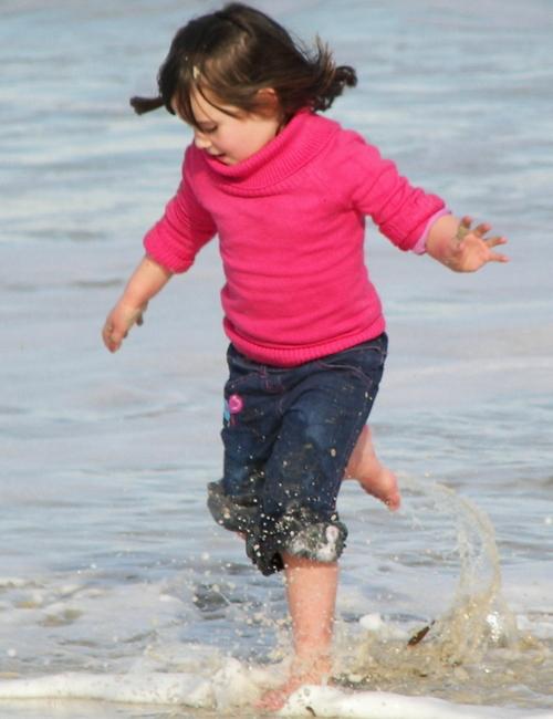 Jaime at the Beach July